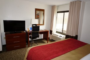 Newly Renovated Comfort Inn - King Room