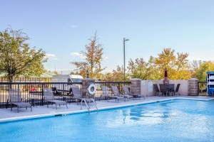 Newly Renovated Comfort Inn - Pool Area